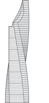 Al Tijaria Tower Outline