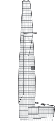 Bitexco Financial Tower Outline