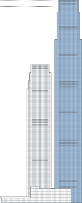 Changsha IFS Tower T1 Outline