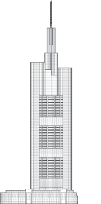 Commerzbank Tower Outline
