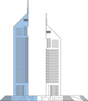 Emirates Tower One Outline