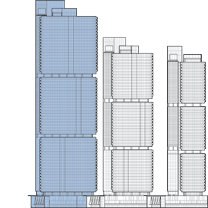 International Towers Sydney Tower 1 Outline