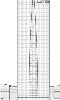 Lotte Center Hanoi Outline