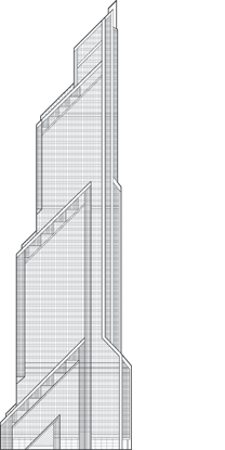 Mercury City Tower Outline