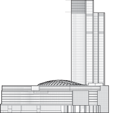 Palazzo Lombardia Outline