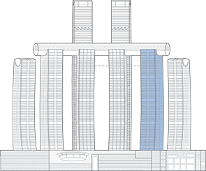 Raffles City Chongqing T5 Outline