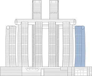 Raffles City Chongqing T6 Outline