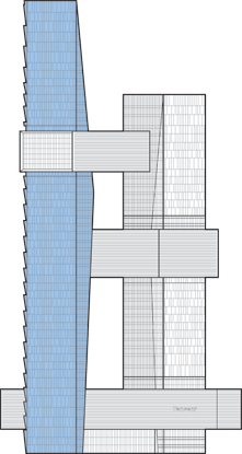 Tencent Seafront Tower 1 Outline