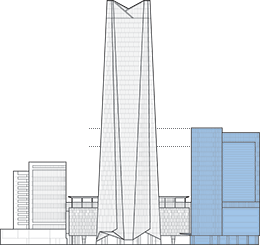 Telkom Landmark Tower 1 Outline
