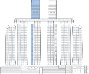 Raffles City Chongqing T3N Outline